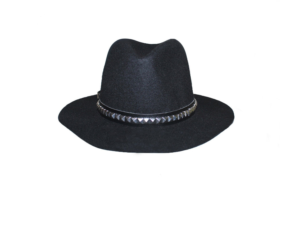 Faux Wool Spike Hat - The London