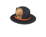 Faux Wool Fedora Felt Hat - The Soho