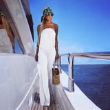 Pure White Jumpsuit - The Milano