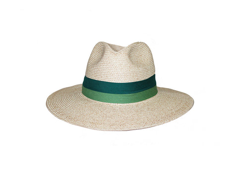 Natural Color Panama Style Sun Hat - The Monte Carlo