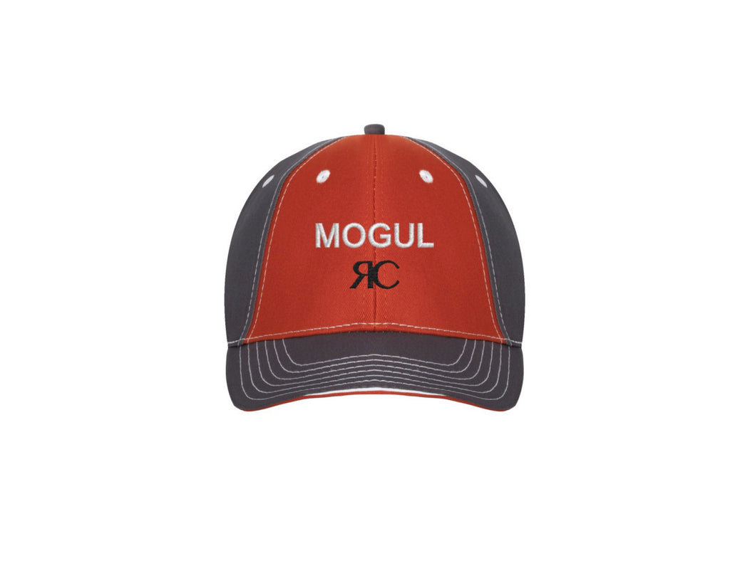 Orange & Gray Baseball Cap- Unisex- MOGUL