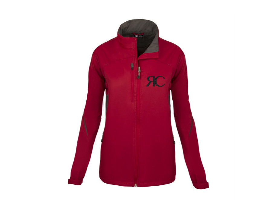 Red Zipper Front Jacket - The Berkshire