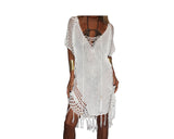 Off-White Apres-Beach Cover-up - The Palm Beach