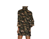 Military Print Jacket- The Rodeo Drive