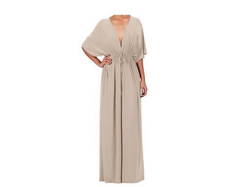 Beige Dress - The Mykonos