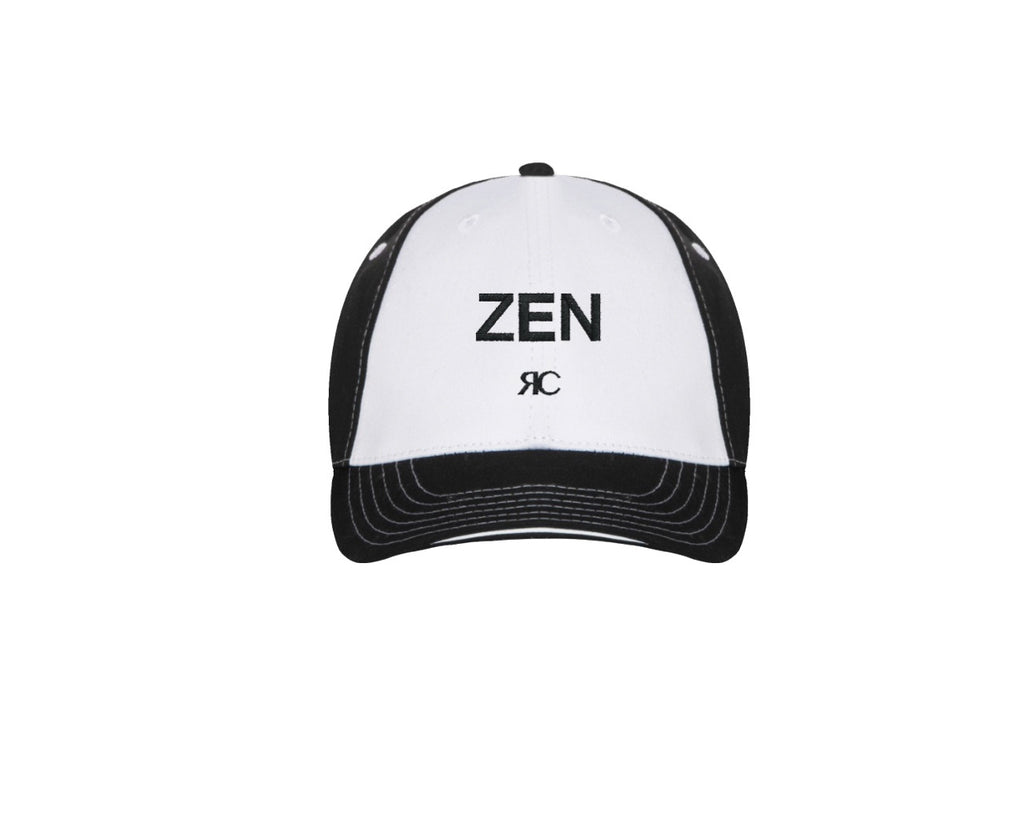 Black and white Baseball Cap - ZEN - Unisex