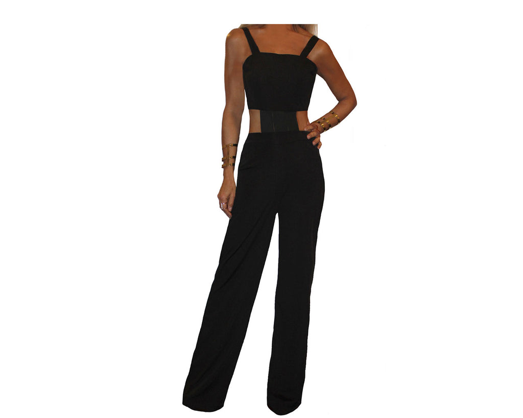Black Jumpsuit - The Bel Air