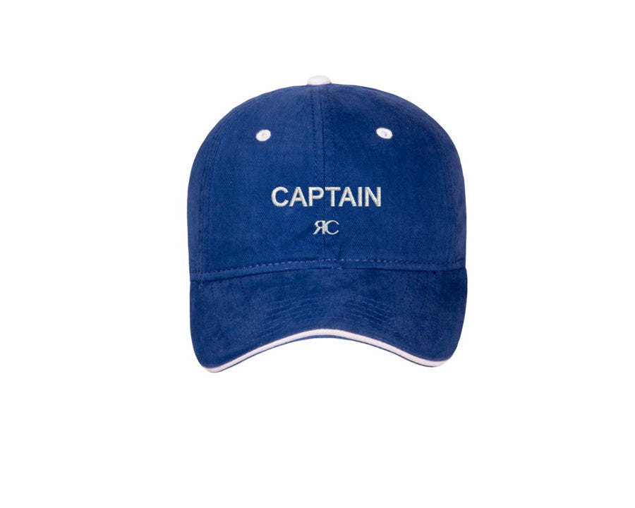 Captain - Blue Baseball Cap - Unisex