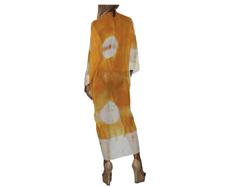 Laguna Yellow Cover-up Beach Tunic - The Malibu