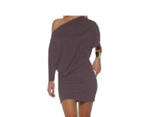 Black off-shoulder style dress - The Soho