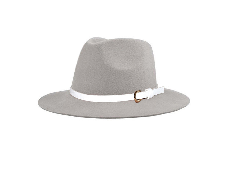 100% Wool Fedora Style Hat - The London
