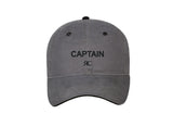 Captain - Gray Baseball Cap - Unisex