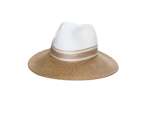 Panama Style Hat - The Pacific Palisades