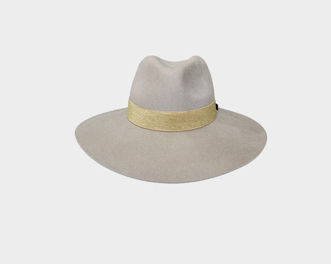 Umber Cocoa Wool Fedora Hat - The Oxford Street