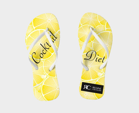 Sandals - Flip Flops - Cocktail Diet