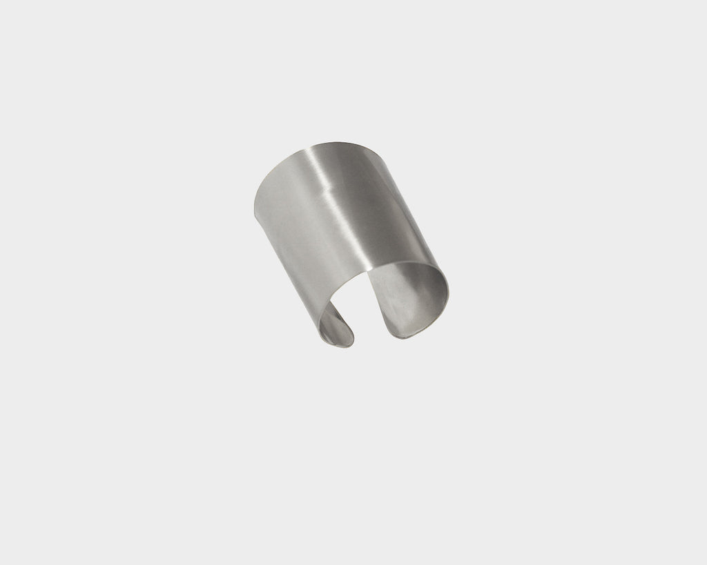 Large Style Silver Metal Cuff  - The Milan Collection