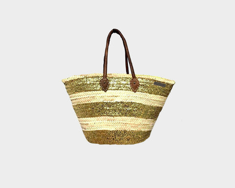 Gold Summer Bag - The French Riviera