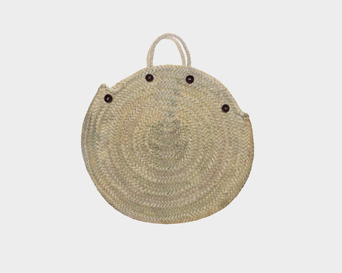7. Palm Cross Body 100% Straw Bag - The East Hampton