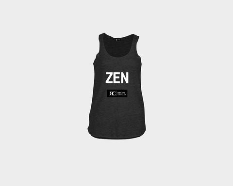 Black Racerback Tank Top - ZEN