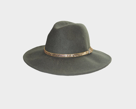 Wool Fedora Style Hat - The London