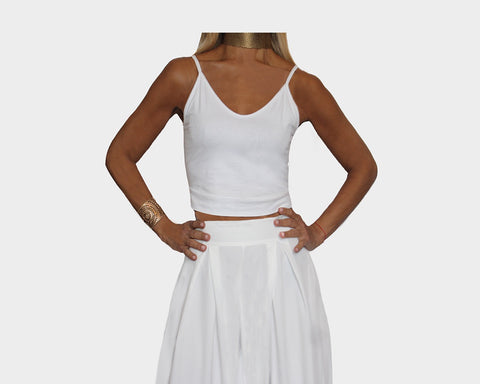 White Camisole Top - The Hamptons
