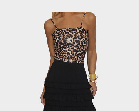 Animal Print Bodysuit - The Monte Carlo