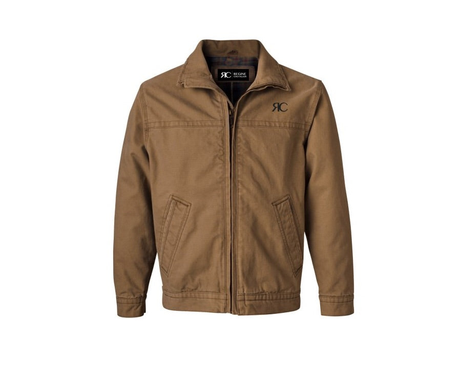 Desert Sand Mens Zipper Front Jacket - The Malibu