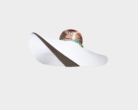 Large Luxury Resort Hat - The Kimora