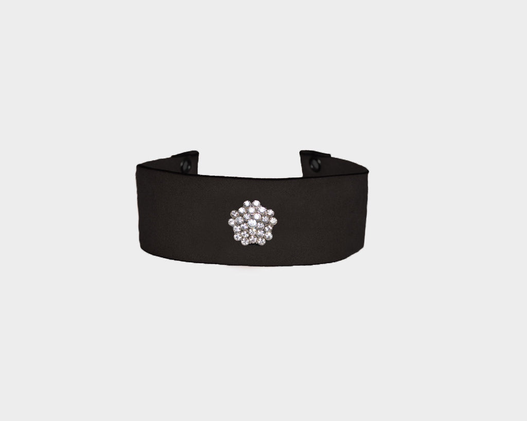 Black Crystal choker - The Manhattan