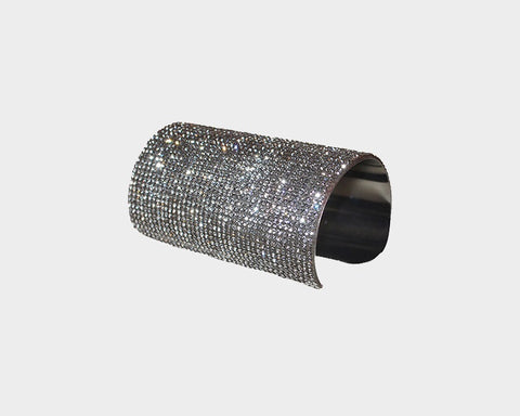 Crystal Diamond Cuff - The Milan