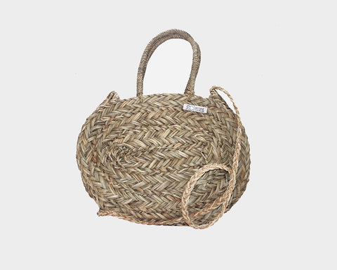 Straw Palm Bag - The Malibu