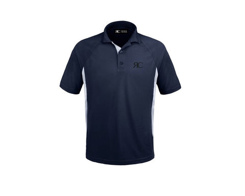 Men's Bicolor Polo - Pacific Palisades