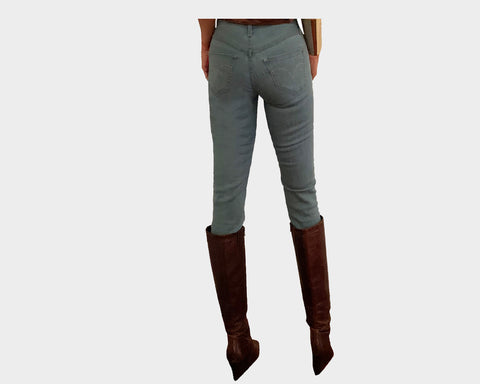 Blue stretch skinny jeans - The Madison Avenue