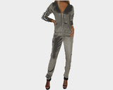 Pale Chic Lounge Gray Jog Suit - The St. Bart