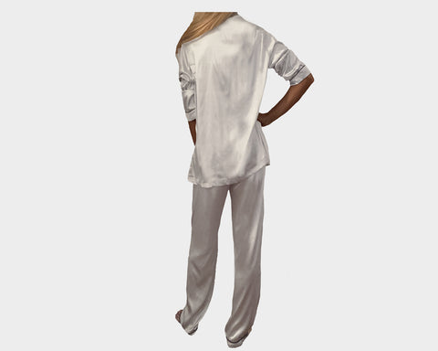 Silver Moon organic silk loungewear - The Park Avenue