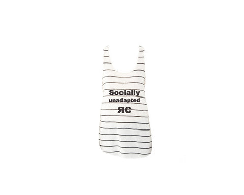 Stripe Tank Top - Socially Unadapted