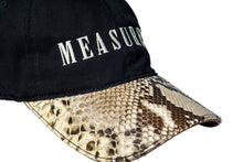 Natural Python with Black Cap
