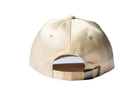Beige Smokers Club Silk Cap