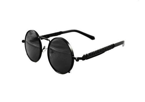 Black Python Glasses (Black Lense)