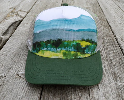 Camel's Hump Trucker Hat