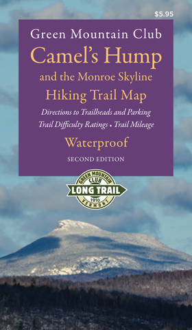 Camel's Hump and the Monroe Skyline Hiking Map 2nd Edition: Waterproof