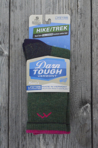 Darn Tough Socks: Women's Merino Wool Boot Sock: Made in Vermont!