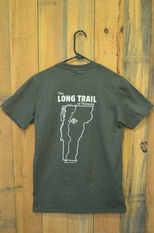 Men's Long Trail T-shirt: City Green