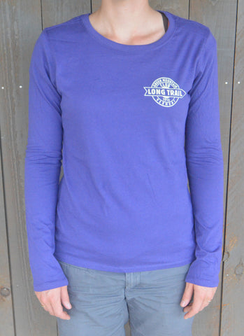 Women's Long Trail Long Sleeve Shirt: Iris