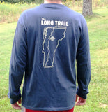Men's Long Trail Long Sleeve Shirt: Pacific Blue