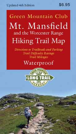 Mt. Mansfield & the Worcester Range Hiking Map: Waterproof