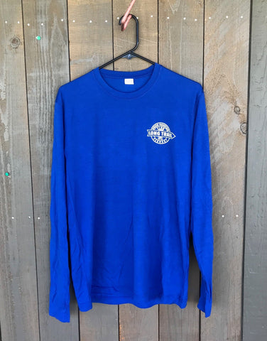 Long Trail Performance Long Sleeve Shirt: True Royal