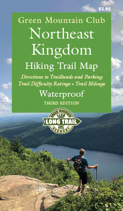 Northeast Kingdom Hiking Trail Map 3rd Edition