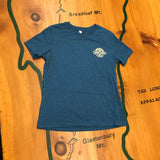 Women's Long Trail T-shirt: Deep Teal