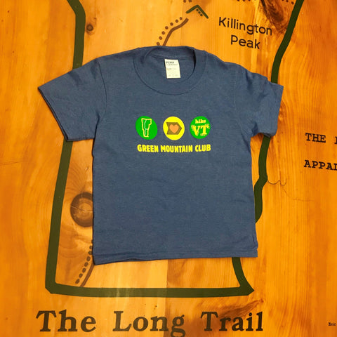 Hike VT Kid's T-shirt